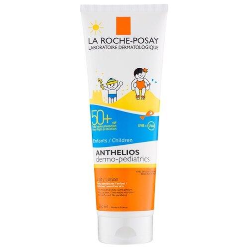 Фото - La Roche-Posay Anthelios Dermo-Pediatrics молочко для детей SPF 50 250 мл la roche posay anthelios солнцезащитный невидимый спрей spf 50 200 мл