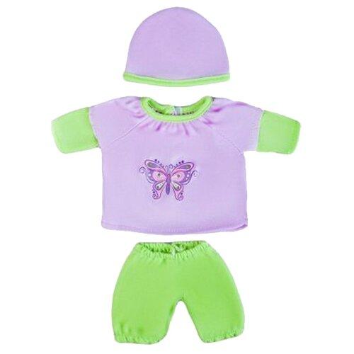 Mary Poppins Кофточка, штанишки и шапочка для кукол 30 см 452121, Одежда для кукол  - купить со скидкой