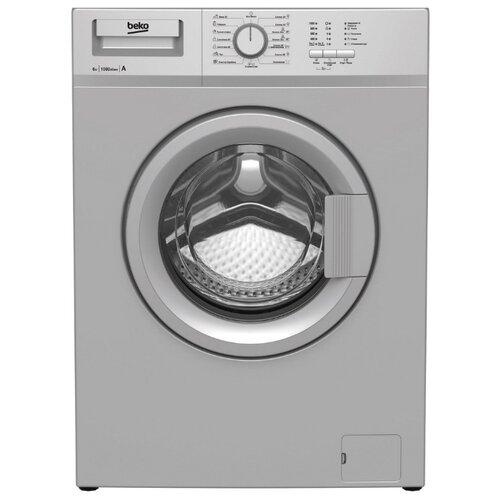 Стиральная машина Beko WRE 65P1 BSS стиральная машина beko wre 65p1 bww белый