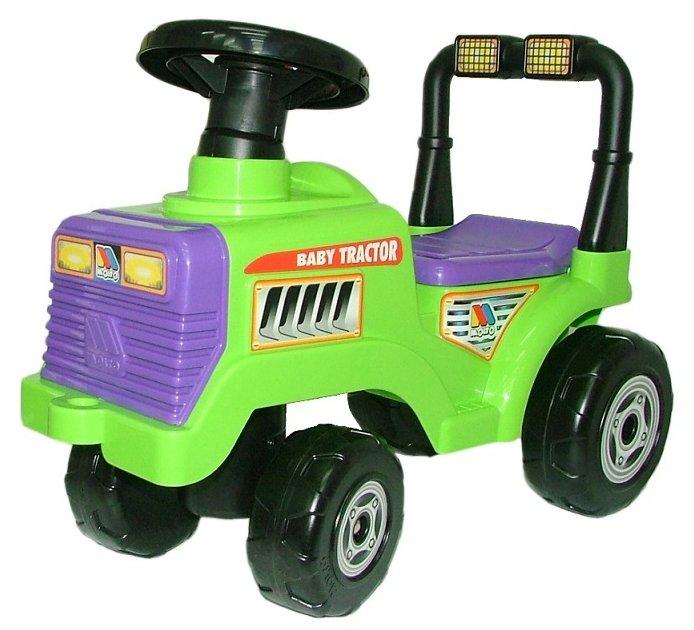 Каталка-толокар Molto Трактор Митя (7956) со звуковыми эффектами