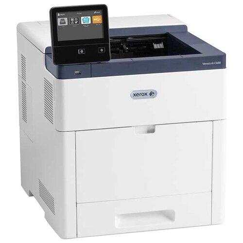 Фото - Принтер Xerox VersaLink C600DN, белый/синий versalink c8000dt цветной принтер а3