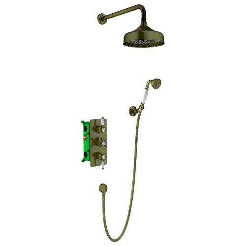 цена на Верхний душ встраиваемый Timo Nelson SX-1391/02SM Antique бронза