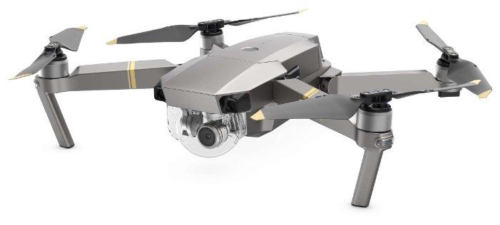 Квадрокоптер DJI Mavic Pro Platinum Combo фото 1