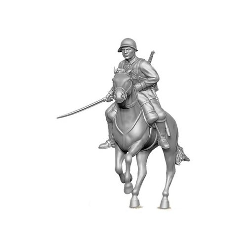 Фото - Сборная модель ZVEZDA Советская кавалерия 1935-1942 гг. (6161) 1:72 сборная модель zvezda немецкий 81 мм миномет с расчетом 1939 1942 6111 1 72