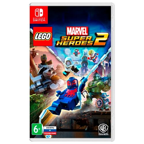 Игра для Nintendo Switch LEGO Marvel Super Heroes 2 game deals nintendo switch lego marvel super heroes 2