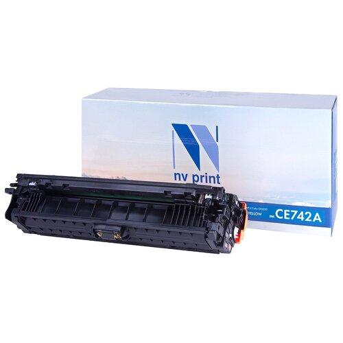 Фото - Картридж NV Print CE742A для HP, совместимый картридж nv print cb383a для hp совместимый