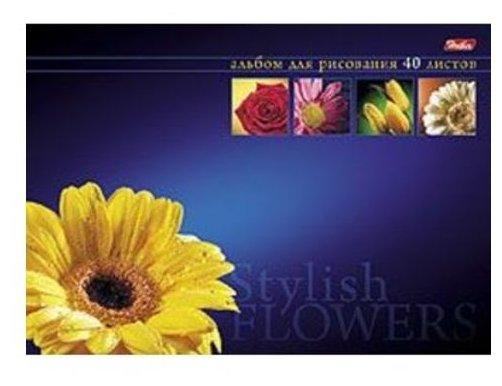 Альбом для рисования Hatber Магия цветов 29.7 х 21 см (A4), 120 г/м², 40 л.