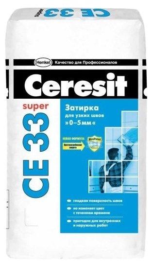 Затирка Ceresit CE 33 Super 25 кг