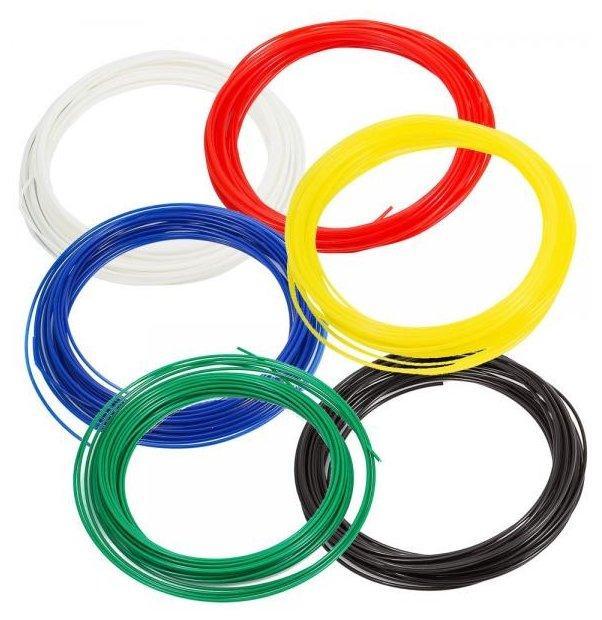 Набор №4 PLA прутков для 3D ручки PrintProduct 1.75 мм 6 цветов