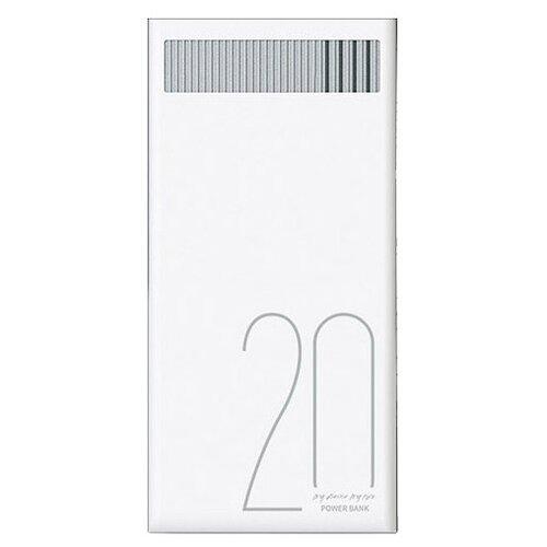 Аккумулятор Remax Revolution 20000 mAh RPL-58 белыйУниверсальные внешние аккумуляторы<br>