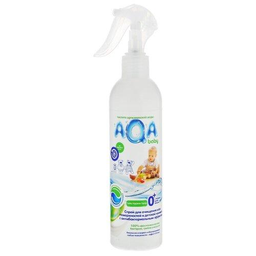 AQA baby Спрей для очищения всех поверхностей в детской комнате 0.3 л 0.36 кг
