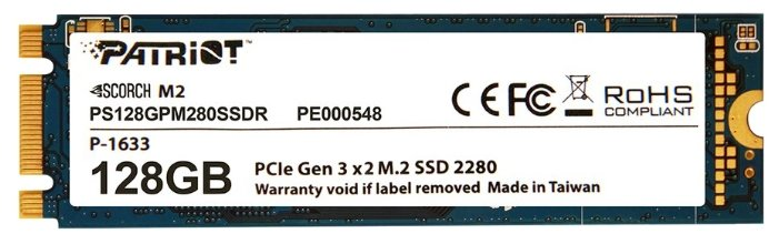 Твердотельный накопитель Patriot Memory PS128GPM280SSDR