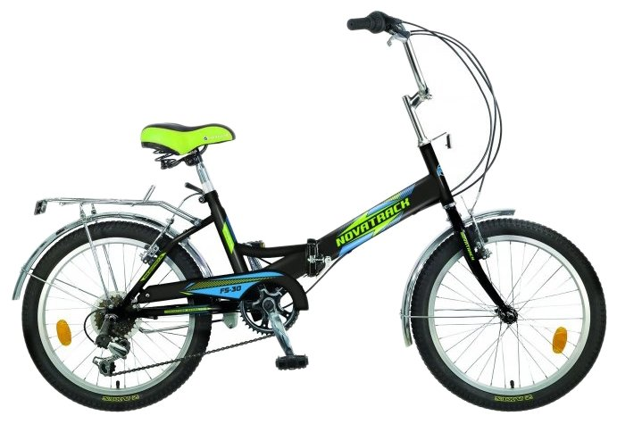 Подростковый городской велосипед Novatrack FS-30 6 Shimano (2018)