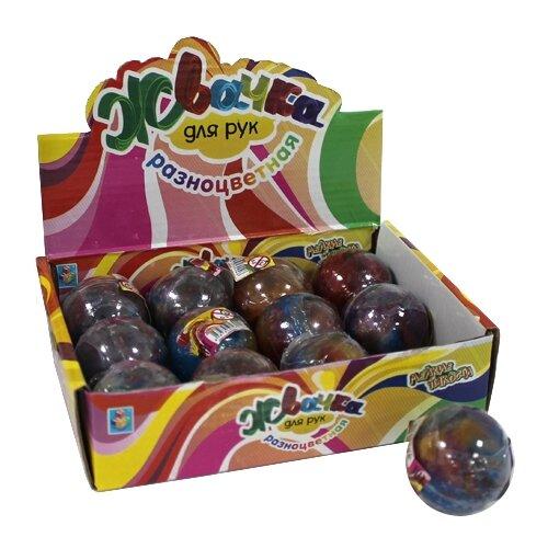 Купить Жвачка для рук 1 TOY 30 грамм Т58924 разноцветный, Игрушки-антистресс