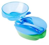 Комплект посуды Tommee Tippee Explora с крышкой и ложкой (44671841)