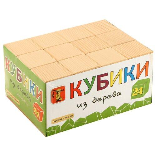 Купить Кубики Теремок (Пелси) из дерева И662, Детские кубики