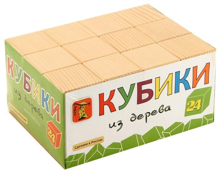 Кубики Пелси из дерева И662