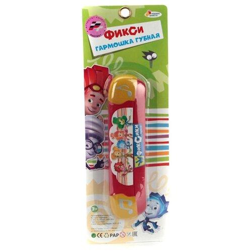 Купить Играем вместе губная гармошка Фиксики B323587-R3 красный, Детские музыкальные инструменты