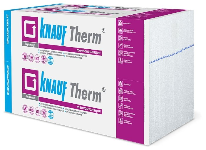 Пенопласт Кнауф / Knauf Therm Периметр 1000х600 мм, толщина 50 мм