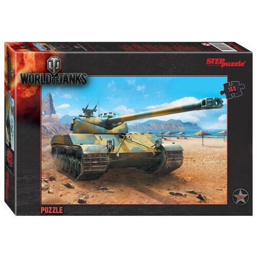 Купить Пазл Step puzzle World of Tanks (94031), 160 дет., Пазлы