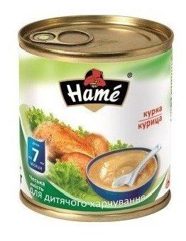 Пюре Hame курица (с 7 месяцев) 100 г