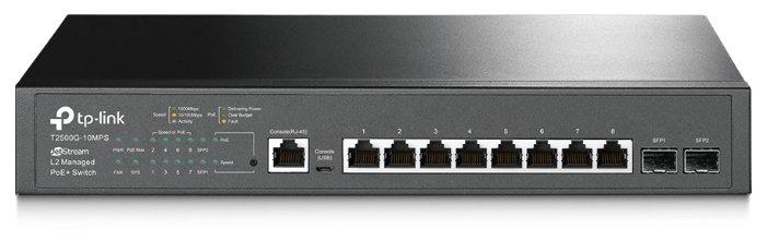 Коммутатор TP-LINK T2500G-10MPS