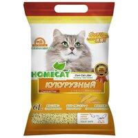 Наполнитель Homecat Эколайн Кукурузный (6 л)