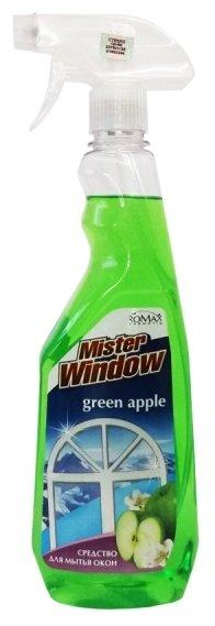 Спрей Mister Window Зеленое яблоко для мытья окон
