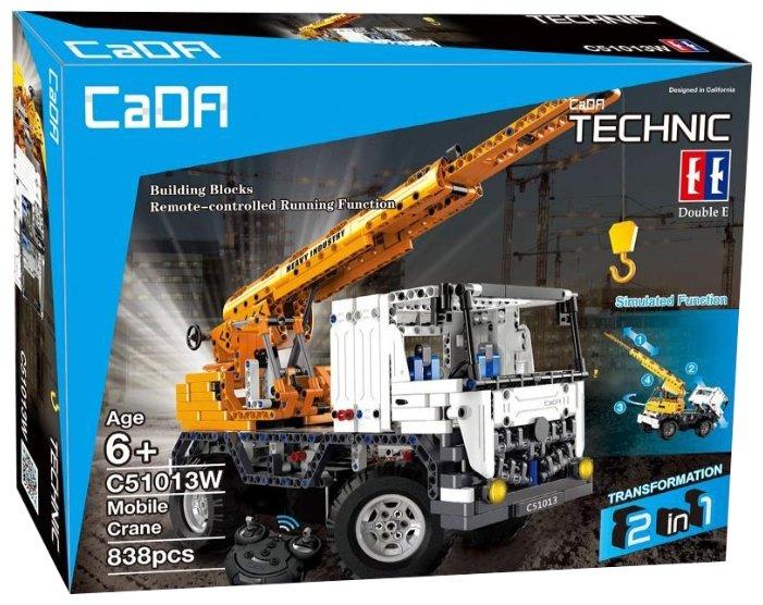 Электромеханический конструктор Double Eagle CaDA Technic C51013W Автокран