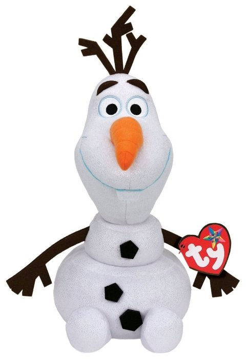 Мягкая игрушка TY Beanie buddies Снеговик Olaf 33 см