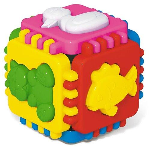 Купить Сортер Стеллар Логический куб Весёлые зверята, Сортеры