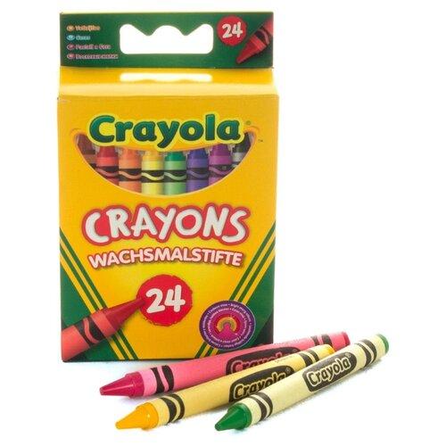 Купить Crayola Восковые мелки 24 шт 0024C, Пастель и мелки