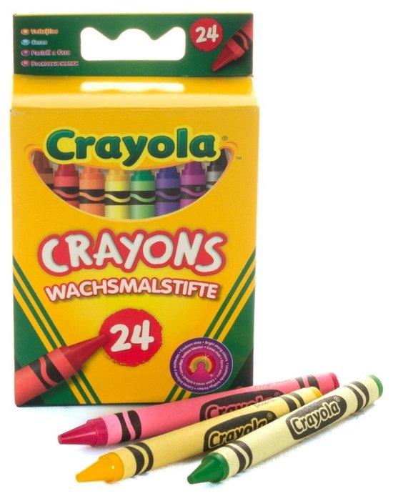 Crayola Восковые мелки 24 шт 0024C