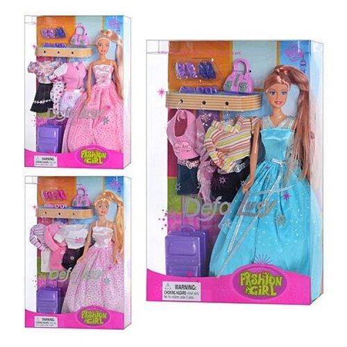 Купить Кукла Defa Lucy Путешественница 28 см 8012, Куклы и пупсы