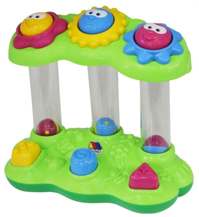 Интерактивная развивающая игрушка Полесье Забавный сад