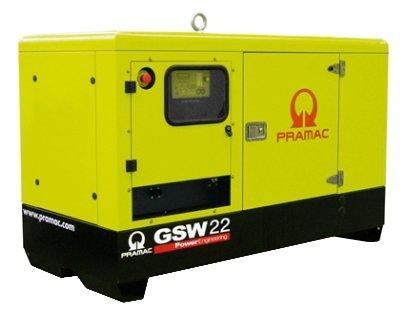 Дизельная электростанция Pramac GSW 22 P 400V в кожухе