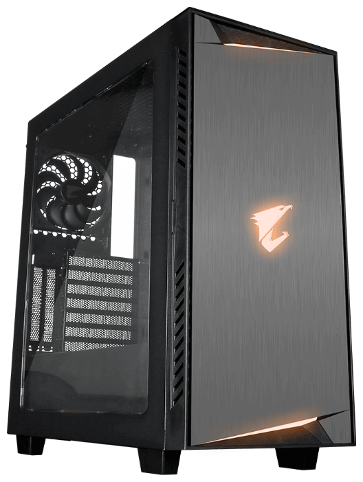 GIGABYTE Компьютерный корпус GIGABYTE AC300W Lite Black