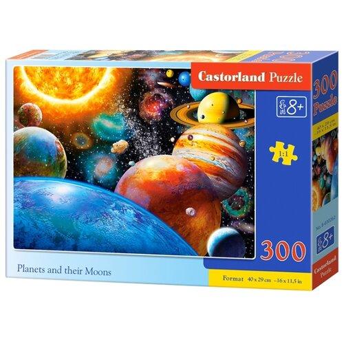 Купить Пазл Castorland Planets and their Moons (B-030262), 300 дет., Пазлы