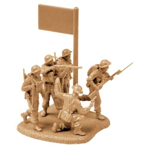 Фото - Сборная модель ZVEZDA Британская пехота 1939-1945 (6166) 1:72 сборная модель zvezda немецкий 81 мм миномет с расчетом 1939 1942 6111 1 72