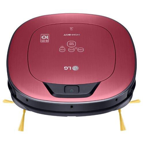 Робот-пылесос LG VR6570LVMP красный металлик