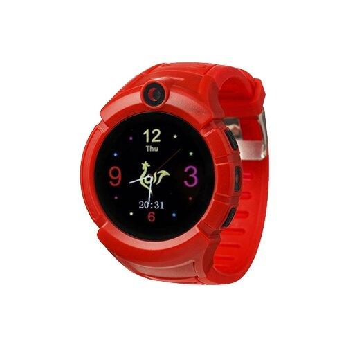 Детские умные часы Smart Baby Watch i8, красный умные часы smart baby watch t58 золотистый