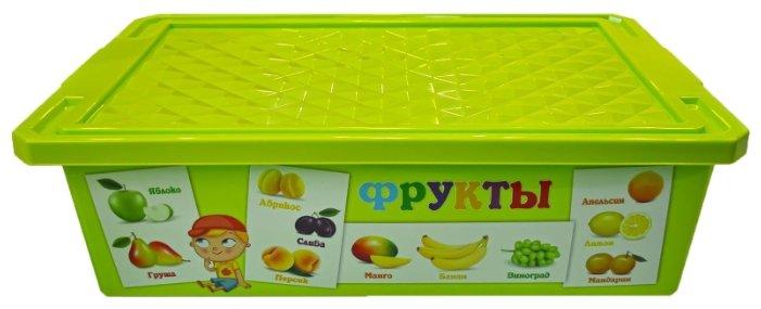 Контейнер Little Angel Обучайка Овощи-фрукты 30 л (LA1024ОБ-НК)