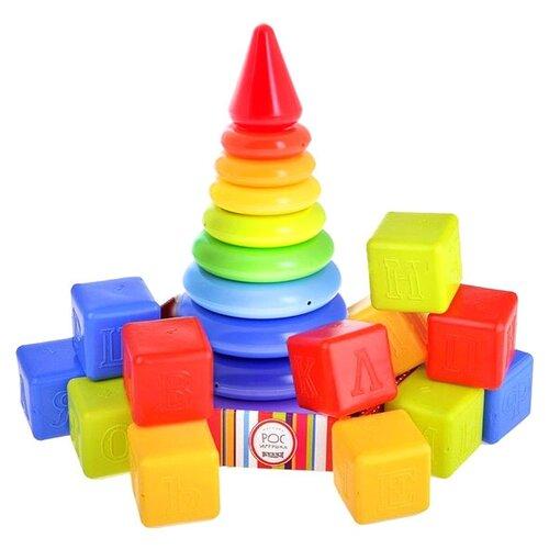 Купить Кубики Росигрушка Радуга 2155, Детские кубики