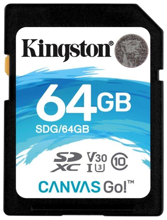 Карта памяти Kingston SDG/64GB