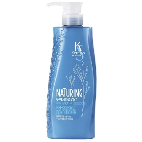 KeraSys кондиционер Naturing Refreshing Уход за кожей головы, 500 млОполаскиватели<br>