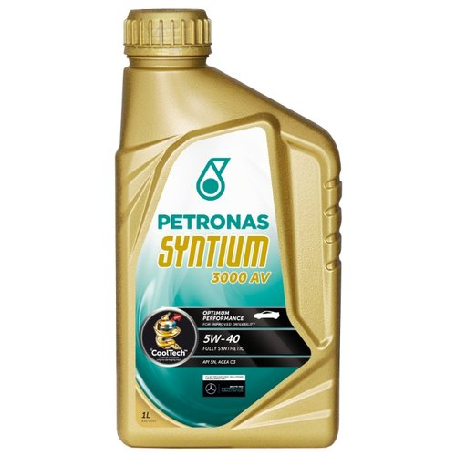 Моторное масло Petronas Syntium 3000 AV 5W40 1 л