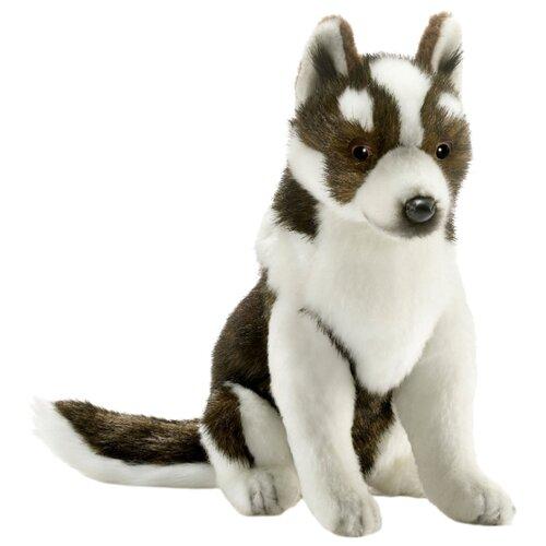 Фото - Мягкая игрушка Hansa Щенок хаски сидящий 25 см shokid интерактивная мягкая игрушка shokid щенок noisette 15 см