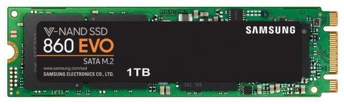 Твердотельный накопитель Samsung 860 EVO MZ-N6E1T0BW 1000 GB — цены на Яндекс.Маркете