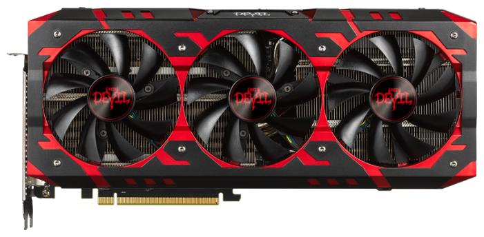 PowerColor Видеокарта PowerColor Radeon RX Vega 64 1417Mhz PCI-E 3.0 8192Mb 1890Mhz 2048 bit 2xHDMI HDCP Red Devil