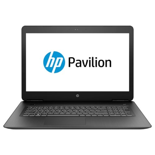 Купить Ноутбук HP PAVILION 17-ab313ur (Intel Core i5 7300HQ 2500 MHz/17.3 /1920x1080/8Gb/1000Gb HDD/DVD-RW/NVIDIA GeForce GTX 1050 Ti/Wi-Fi/Bluetooth/Windows 10 Home) таинственный черный